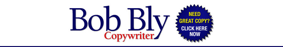 Bob Bly Direct Response Copywriter Official Banner