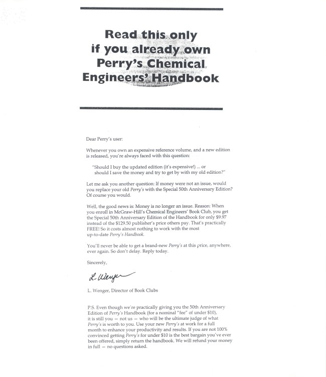 Chemical engineering admission essay
