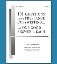 101 Freelance Copywriting Questions