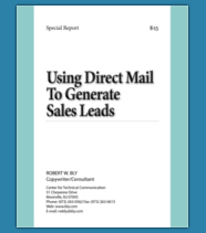 Using Direct Mail To Generate Sales Leads